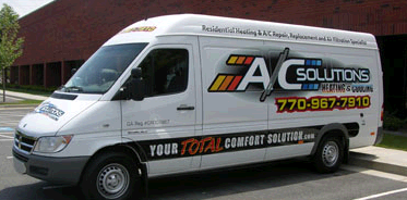 A/C Solutions Heating and Cooling first image