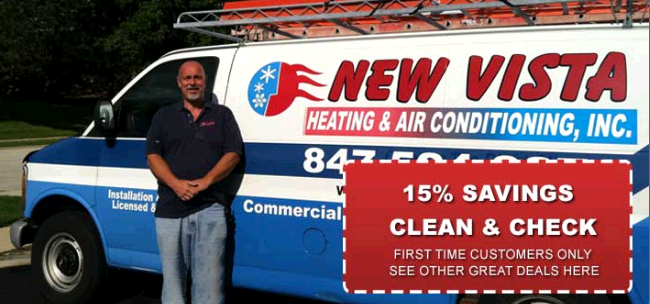 New Vista Heating & Air Conditioning Inc first image