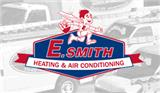 E Smith Heating & Air Conditioning logo