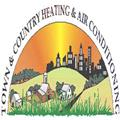 Town & Country Heating & Air Conditioning logo
