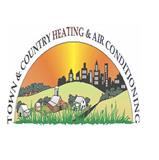 Town & Country Heating and Air logo