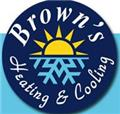 Browns Heating and Cooling logo