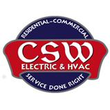 CSW Electric & HVAC logo