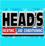 Head's Heating & Air Conditioning logo