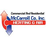 McCarroll Co. Inc, Heating and Air logo